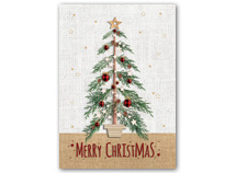 Tartan Tree Holiday Greeting Cards