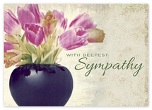 Beautiful Bunch Sympathy Cards