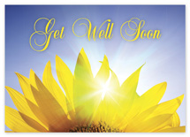 Radiant Petals Get Well Cards